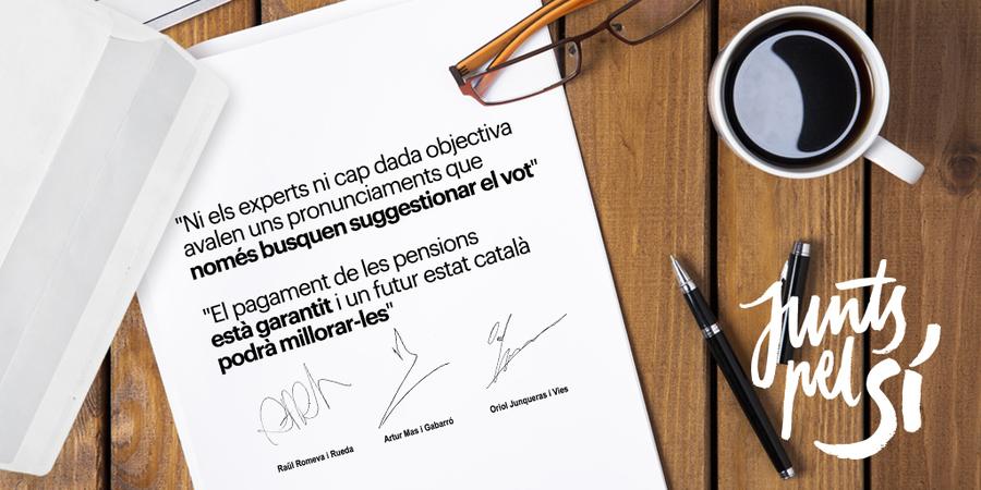 El bloc del No i el govern del PP han adoptat l'estratègia de la por amb falsedats sobre les pensions