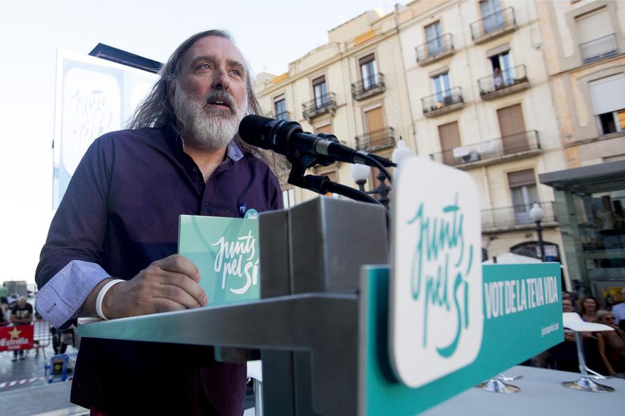 Joan Reig va presentar l'acte a Tarragona