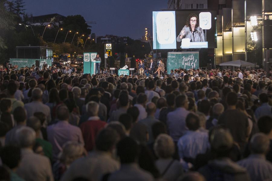 Acte de campanya a Reus