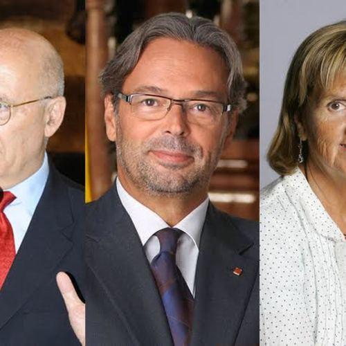 Joan Rigol, Ernest Benach i Núria de Gispert tanquen la llista de Junts pel Sí per Barcelona