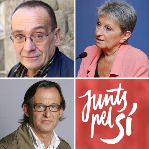 El Pare Manel, Carme-Laura Gil i Josep Maria Vila d'Abadal són les noves incorporacions a la llista Junts pel Sí