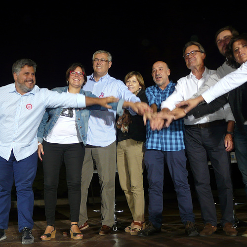 Vila-Seca acoge a Germà Bel en un acto con más de 500 personas