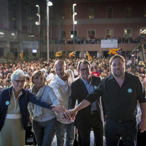"Raül Romeva: ""Junts pel Sí es el único cambio posible"""