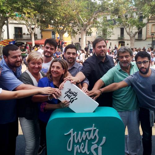 """Oriol Junqueras: """"Tenim l'oportunitat de guanyar i donar sentit a la lluita d'aquells que ens van precedir"""""""