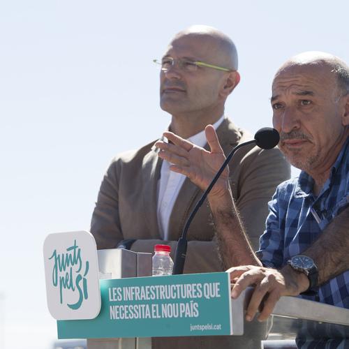 """Romeva acusa al Estado español """"de haber secuestrado el sentido común"""" en materia de infraestructuras"""