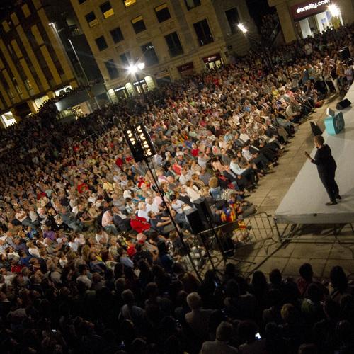 """Raül Romeva: """"Avui Rajoy llegirà l'article 11.2 de la Constitució i entendrà que ningú ha de patir per la ciutadania europea"""""""
