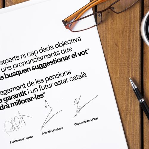 3 motivos por los que las pensiones están garantizadas y un futuro Estado catalán podrá hasta mejorarlas