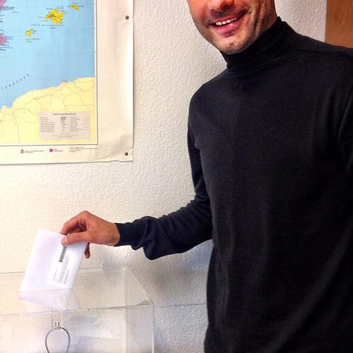 Pep Guardiola ha votat avui a Munich