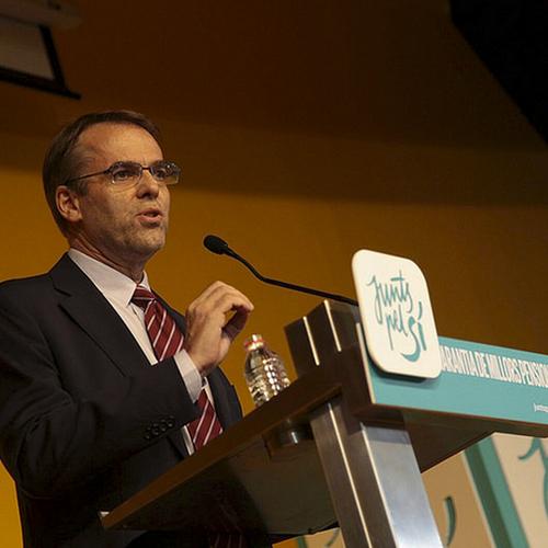 Comunicado de Junts pel Sí sobre las declaraciones de Oriol Amat