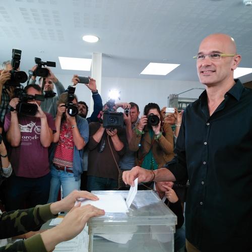 """Raül Romeva: """"Celebro que los catalanes expresen en las urnas el futuro del país"""""""