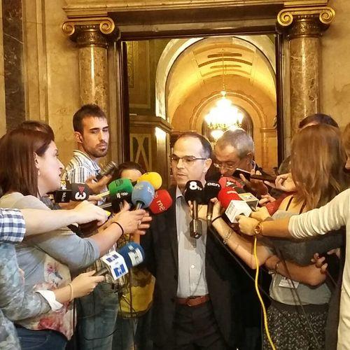 """Turull: """"Intenten guanyar als tribunals el que han estat incapaços de guanyar a les urnes"""""""