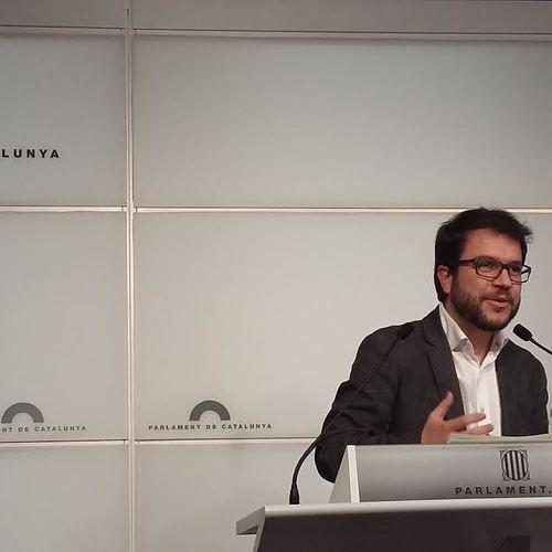 """Aragonès: """"Dilluns votarem l'inici del procés. Necessitem la independència per fer possible la justícia social"""""""