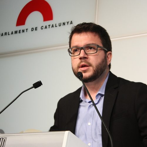 """Aragonès: """"El gobierno español actúa como la Troika pero por razones ideológicas"""""""