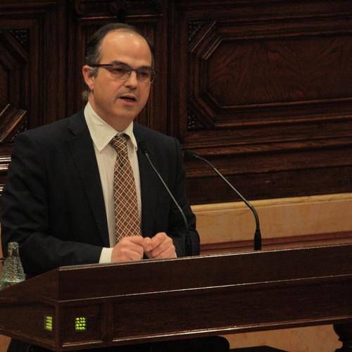 """Turull: """"L'acord satisfà els ciutadans que van votar independència, però està pensat perquè visquin millor 7 milions de catalans"""""""