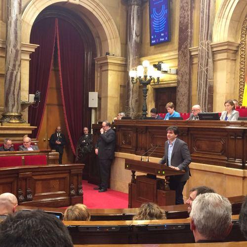 Junts pel Sí aconsegueix un acord de tots els grups parlamentaris perquè es retorni la paga extra dels funcionaris