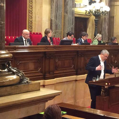 """Pascal: """"Tenen l'obsessió d'emmudir el moviment democràtic més potent del sud d'Europa. No renunciarem a explicar-nos al món"""""""