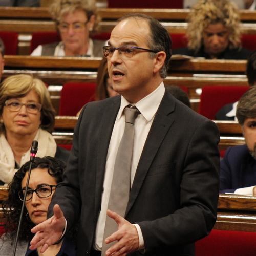 """Turull: """"Tenim tota la determinació per no deixar-nos intimidar en els nostres compromisos amb els ciutadans de Catalunya"""""""