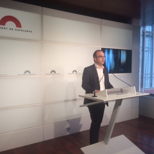 """Turull: """"Ahir es va comprovar un cop més que l'Estat espanyol no ofereix cap proposta ni pel mandat democràtic del 27S ni en la defensa dels interessos del dia a dia"""""""