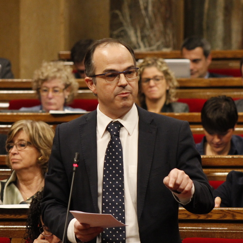 """Turull: """"El que veiem aquests dies és un Estat convertit en claveguera per atacar el procés català i desprestigiar l'honorabilitat de moltes persones"""""""