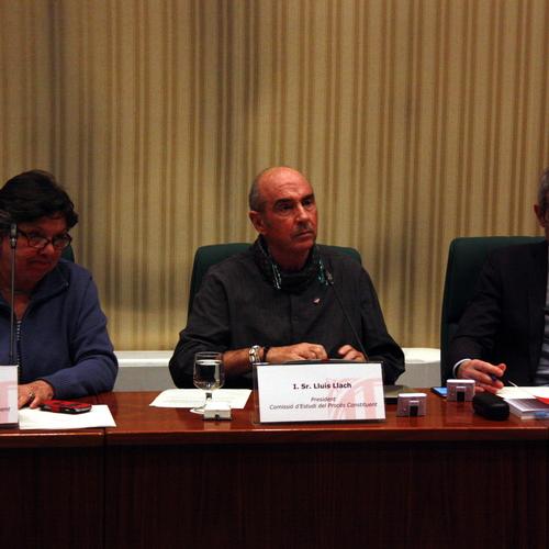 Propuesta de conclusiones de la comisión de estudio del Proceso Constituyente
