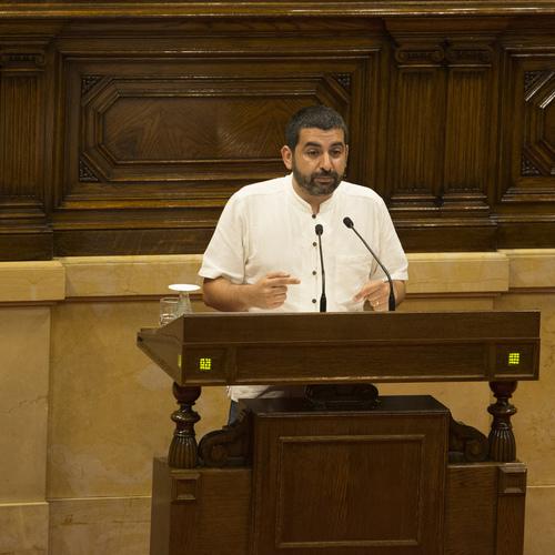 """El Homrani: """"La protecció social és un pilar fonamental de l'estat del benestar  per garantir la igualtat efectiva i l'Agència de Protecció Social Catalana ha de permetre la justícia social"""""""