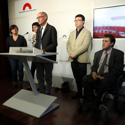 Junts pel el Sí presenta la proposición de Ley que declarará nulos los consejos de guerra sumarísimos realizados en Catalunya durante el franquismo