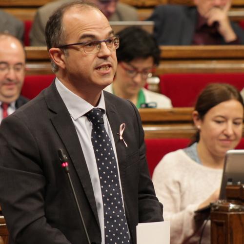 """Turull: """"El referent de l'Estat espanyol són els tribunals; el nostre, són les urnes"""""""