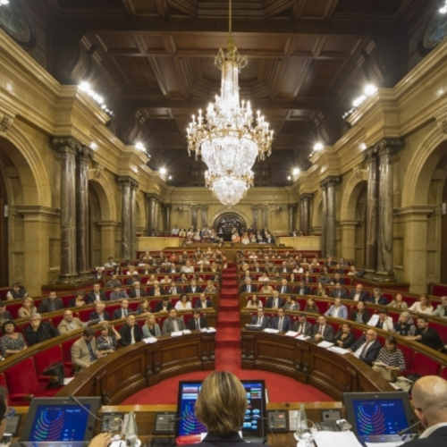 Junts pel Sí i la CUP presenten una proposició de llei per gravar els actius no productius de persones jurídiques