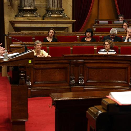 """Simó: """"La LOMCE es va fer per acabar amb el model d'escola catalana. Cal derogar-la: ni congelar-la ni esmorteir-la"""""""