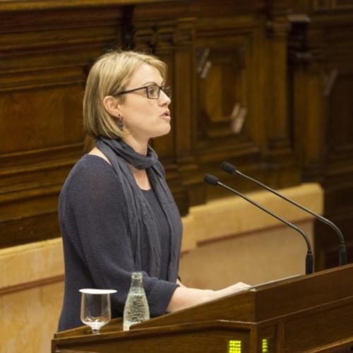 """Maria Senserrich: """"La llei d'acompanyament és una oportunitat pel nostre país per millorar la vida dels nostres ciutadans """""""