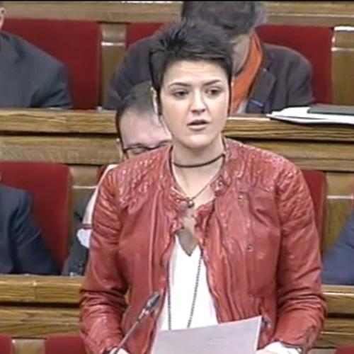 """Natàlia Figueras: """"Malgrat els incompliments de l'Estat, la Generalitat fa un sobreesforç per afavorir la igualtat en l'accés a la universitat de tots els estudiants"""""""