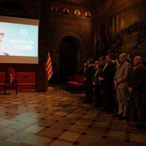 """President Puigdemont: """"Si fallem per manca de coratge o decisió, totes les Muriels del món que ens han portat a aquí sí que tindran dret a inhabilitar-nos"""""""