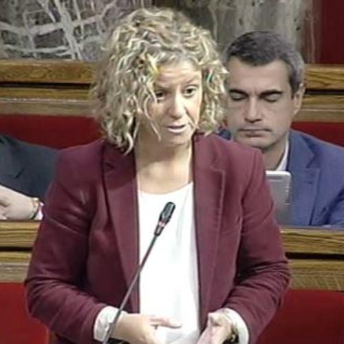 """Meritxell Roigé: """"És vergonyós que l'Estat anunciï retards en inversions a Catalunya mentre utilitza els fons del Corredor del Mediterrani per a obres a Madrid"""""""