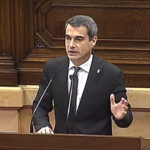 """Joan Ramon Casals: """"És una estafa que l'any 2015 l'Estat dediqués a Catalunya el pitjor nivell d'inversió en infraestructures des de 1997"""""""