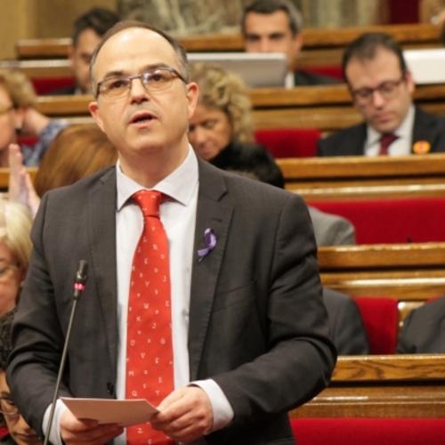 """Turull: """"La nostra determinació segueix intacte. Farem tot el possible i utilitzarem tots els mecanismes legals per fer el referèndum"""""""