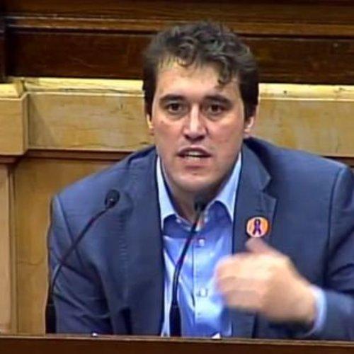 """David Bonvehí: """"La memoria histórica vuelve a situarse en el centro del debate demostrando que Cataluña lidera y tiene ganas de practicarla"""""""