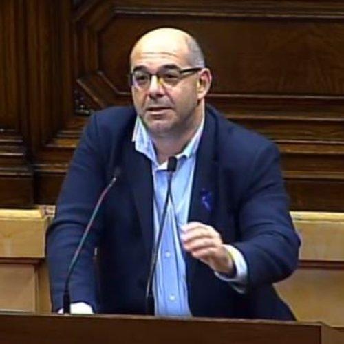 """Lluís Guinó: """"La Operación Cataluña es una involución democrática inaceptable, es la persecución de la disidencia"""""""