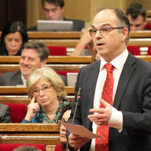 """Jordi Turull: """"El Govern català dialoga i genera complicitats arreu del món mentre l'Estat espanyol posa en pràctica les seves pitjors arts"""""""