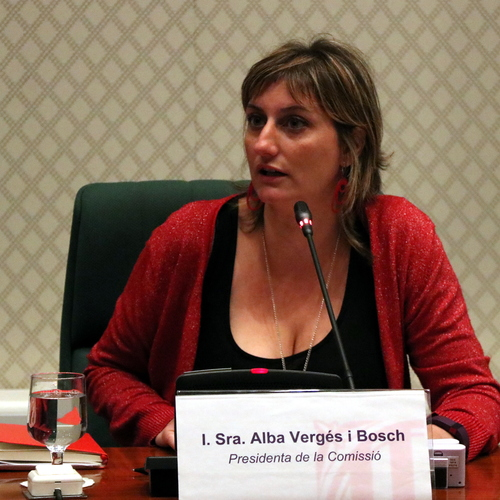 """Alba Vergés: """"Pretenem posar llum, retratar i aclarir uns fets i unes pràctiques de les quals només en sabem la punta"""""""