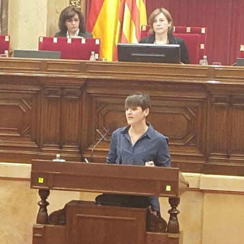 """Natàlia Figueras: """"Avui es reconeixen uns drets que ens recorden que hem de ser lliures de discriminacions"""""""