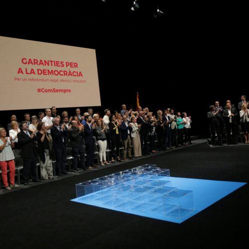 """Puigdemont: """"Participación y resultado son dos aspectos clave y sólo dependen de nosotros. La victoria la hará posible la gente"""""""