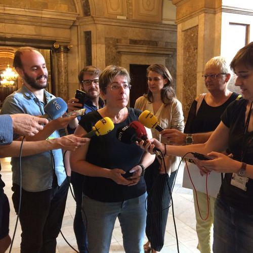 """Castellví: """"Hoy el Parlament inicia la tramitación de la ley de espacios agrarios, es la respuesta a una reivindicación histórica del sector y del territorio"""""""