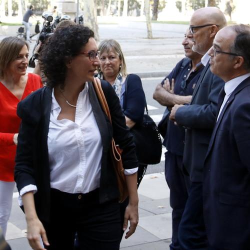 """Rovira: """"La actuación preventiva del TC es inédita y genera una coacción y una injerencia en el trabajo que hacemos los diputados y diputadas en el Parlamento"""""""