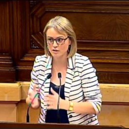"""Maria Senserrich: """"Amb la llei del Codi tributari posem els fonaments d'una estructura d'Estat que configurarà l'administració tributària catalana"""""""