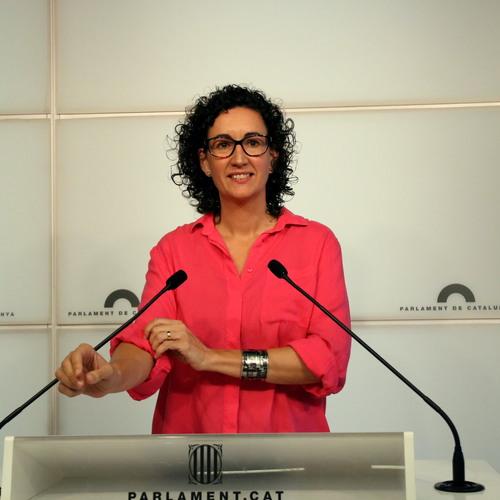 """Marta Rovira: """"Si el dret de vot dels ciutadans de Catalunya es veu amenaçat, utilitzarem tots els mecanismes democràtics al nostre abast per protegir un dret que considerem fonamental"""""""