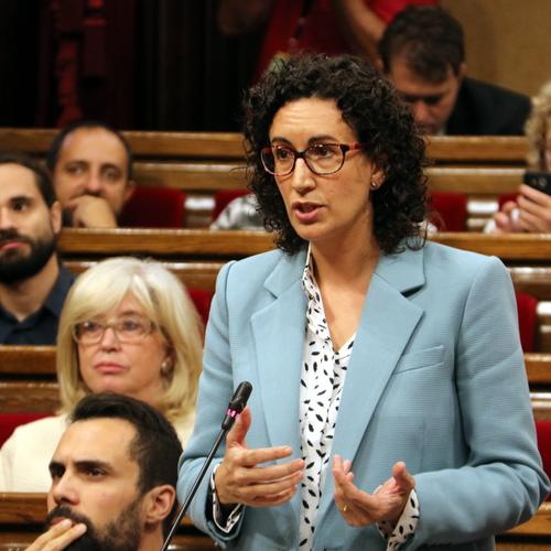 """Marta Rovira: """"Aquest és el debat sobre l'exercici del dret a l'autodeterminació de Catalunya, no és un debat d'una llei més"""""""
