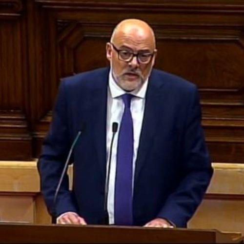 """Lluís Corominas: """"Assumim els resultats de l'1-O, els donem per vàlids i vinculants, i apostem per la mediació i el diàleg"""""""