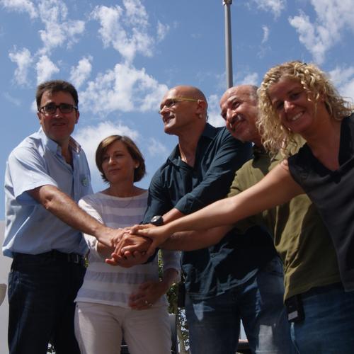 Junts pel Sí anuncia en Tortosa que la campaña ya suma más de 41.000 candidatos