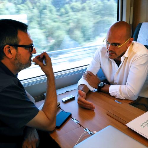 Raül Romeva acaba hoy la ruta 'Candidatos del Sí' que le ha llevado por toda Catalunya