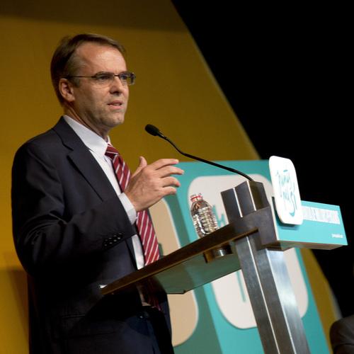 """Oriol Amat assegura a Badalona que """"les pensions a Catalunya estan avui més que garantides i poden ser millors en el futur"""""""